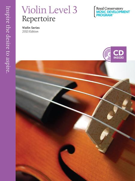 Violin Series: Violin Repertoire 3