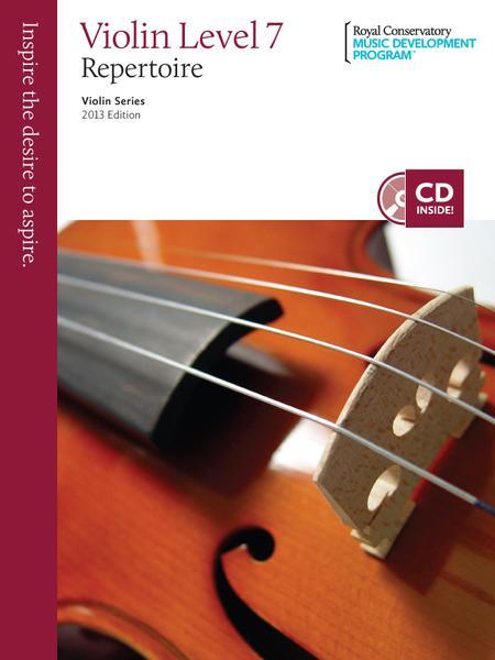 Violin Series: Violin Repertoire 7