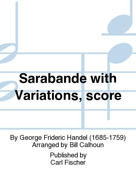 Sarabande with Variations