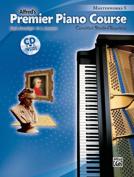 Premier Piano Course Masterworks, Book 5