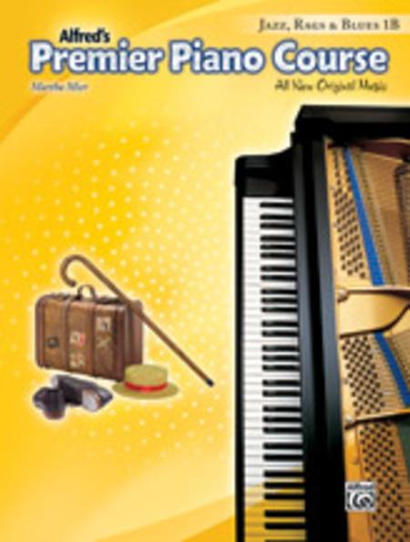 Premier Piano Course Jazz, Rags & Blues, Book 1B