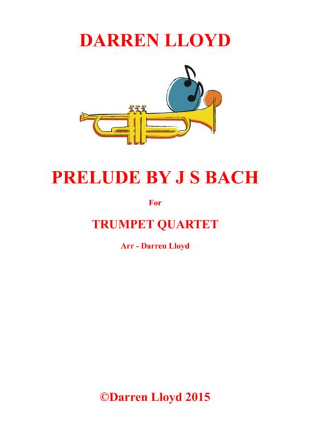 Prelude for Trumpet quartet J S Bach