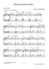 White Fascination Waltz - Wedding Piano Music