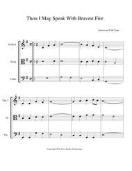 Hymns for String Trio Book II - violin, viola, cello