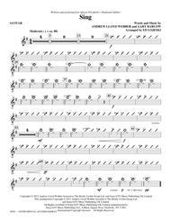 Sing (Queen Elizabeth Diamond Jubilee) - Guitar