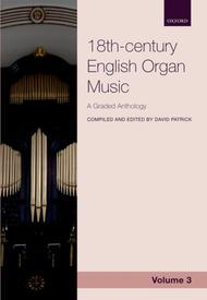 18th-century English Organ Music, Volume 3