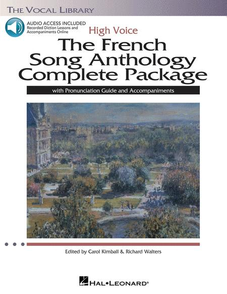 The French Song Anthology Complete Package - High Voice