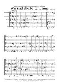Allerbester Laune - German Polka - Brass Quintet