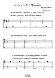 Minuet in C 1,2,3,4,5