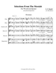 Handel's Messiah Selections for Woodwind Quintet
