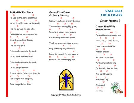 Guitar Hymns 2 - Case Easy Song Folios
