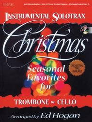 Instrumental Solotrax, Christmas: Trombone/Cello - Book and CD