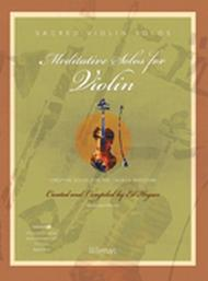 Meditative Solos for Violin