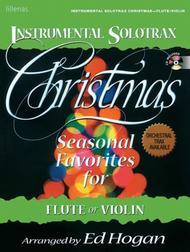 Instrumental Solotrax, Christmas: Flute/Violin - Book and CD