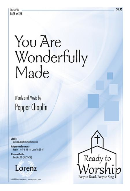 You Are Wonderfully Made