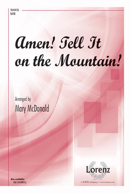 Amen Tell It On The Mountain Sheet Music By Mary Mcdonald Sheet