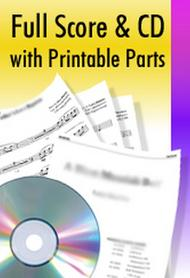 With Open Hearts, We Are Waiting - Orchestral Score and CD with Printable Parts