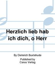 Tender love have I for thee, Lord (Herzlich lieb hab ich dich, o Herr)