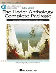 The Lieder Anthology Complete Package - Low Voice