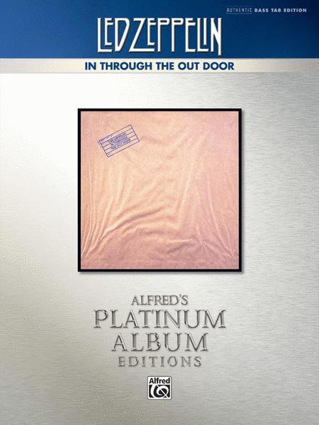 Led Zeppelin -- In Through the Out Door Platinum Bass Guitar
