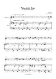 Turkey in the Straw - a Jazz Arrangement - for Bb Clarinet and Piano