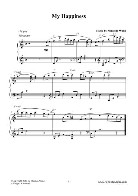My Happiness - Wedding Piano Music