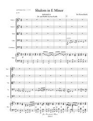 Shalom in E minor