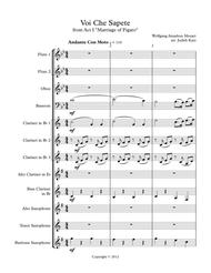 Download Voi Che Sapete Sheet Music By Wolfgang Amadeus Mozart