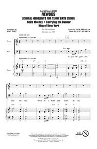Newsies (Choral Highlights for Tenor Bass Choir)