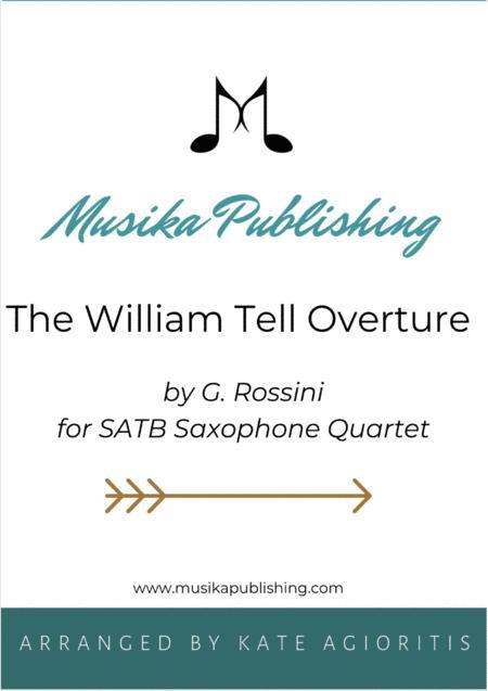 William Tell Overture - For Saxophone Quartet