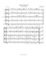 Dvorak Slavonic Dance #8 for Woodwind Quintet