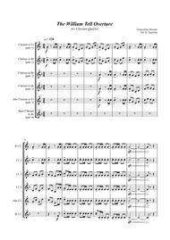 William Tell Overture - For Clarinet Quartet