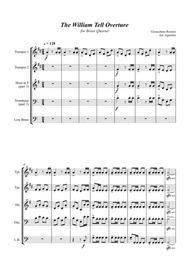 William Tell Overture - For Brass Quartet