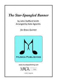 The Star-Spangled Banner - for Brass Quintet