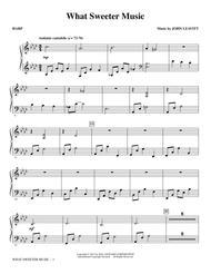 What Sweeter Music - Harp
