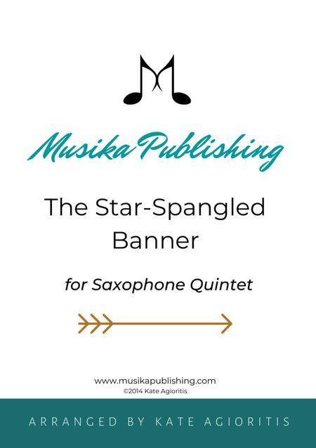 The Star-Spangled Banner - for Saxophone Quintet