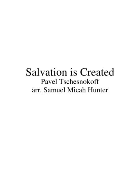 Salvation is Created