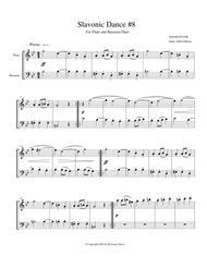 Dvorak Slavonic Dance #8 for Flute and Bassoon Duet