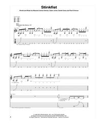Download Stinkfist Sheet Music By Tool - Sheet Music Plus