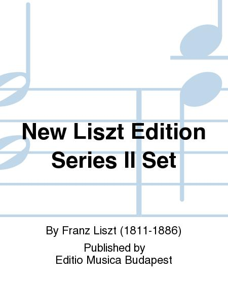 New Liszt Edition Series Ii Set