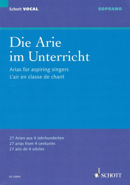 Arias For Aspiring Singers