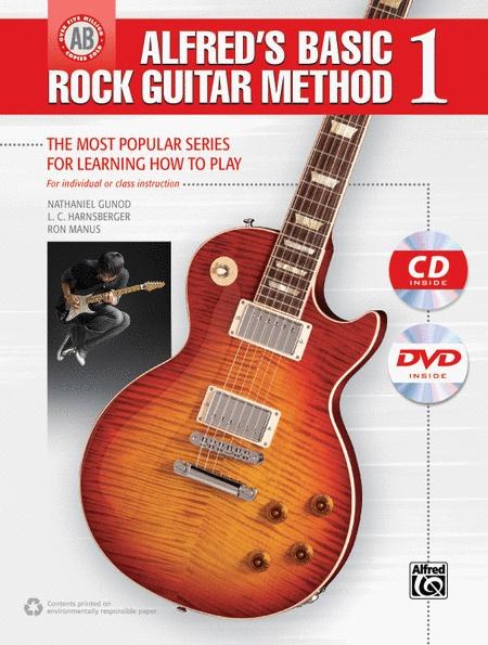 Alfred's Basic Rock Guitar Method, Book 1