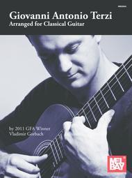 Giovanni Antonio Terzi: Arranged for Classical Guitar