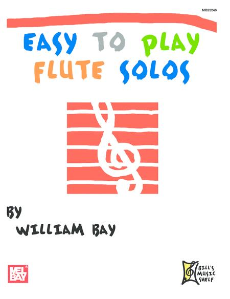 Easy to Play Flute Solos