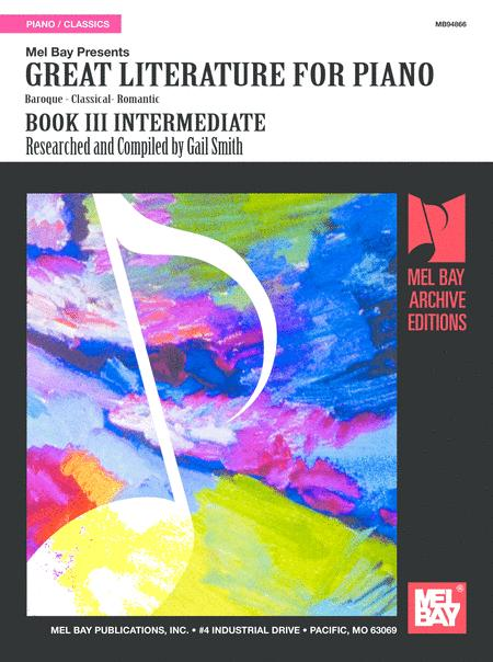 Great Literature for Piano Book 3 (Intermediate)
