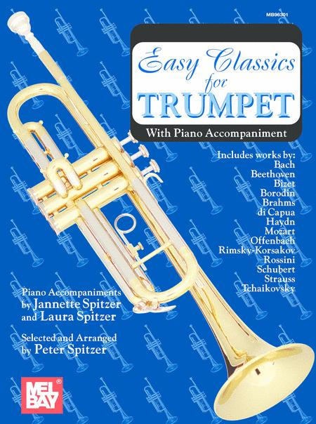 Easy Classics for Trumpet - with Piano Accompaniment