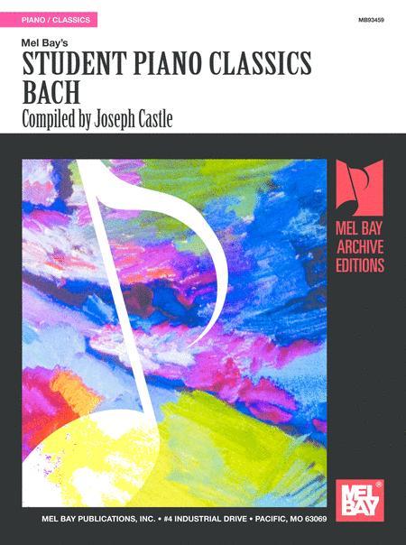 Student Piano Classics - Bach