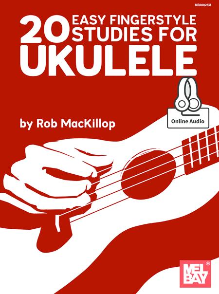 20 Easy Fingerstyle Studies For Ukulele eBook
