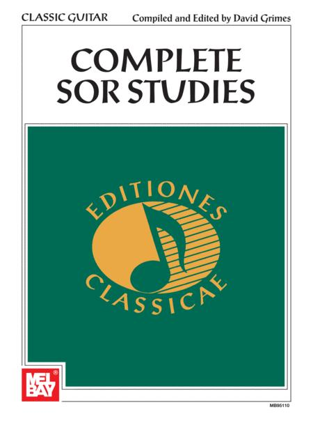 Complete Sor Studies for Guitar