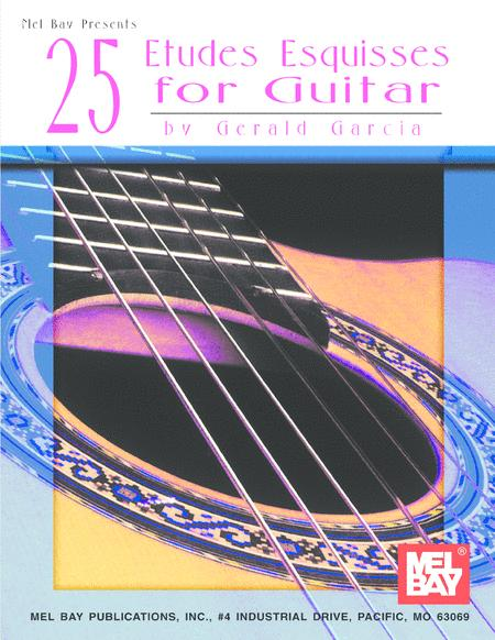 25 Etudes Esquisses for Guitar